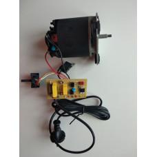 Двигатель в сборе с платой и сетевым шнуром для соковыжималки Moulinex SS-994149